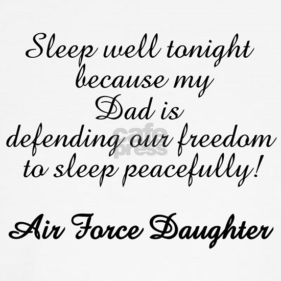 AF Daughter Sleep Peaceful Dad