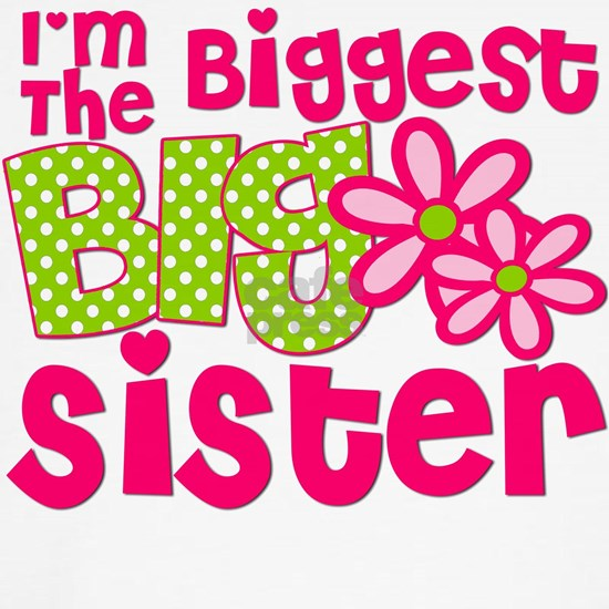 biggest sister pink green2