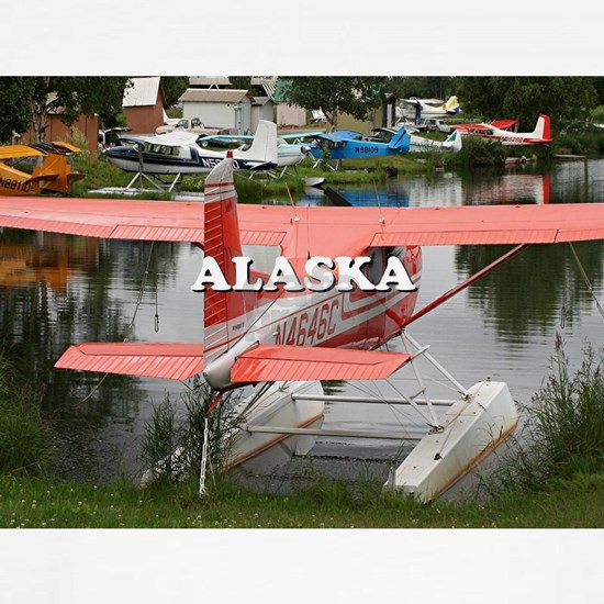 Alaska: float plane 23, Lake Hood
