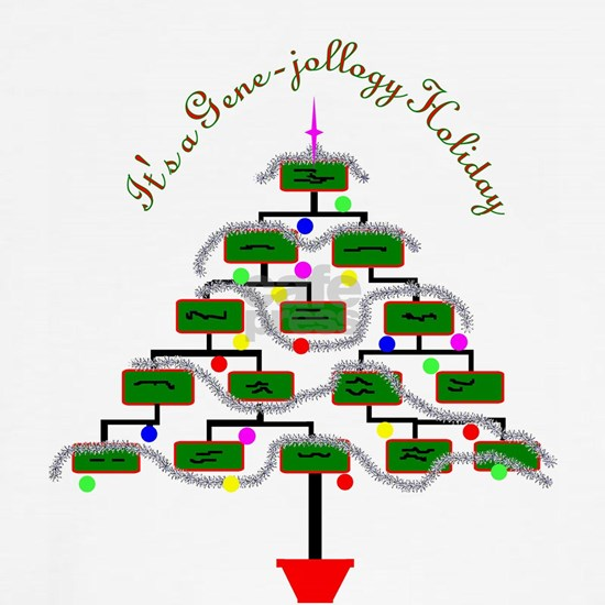 Genealogy Christmas Tree
