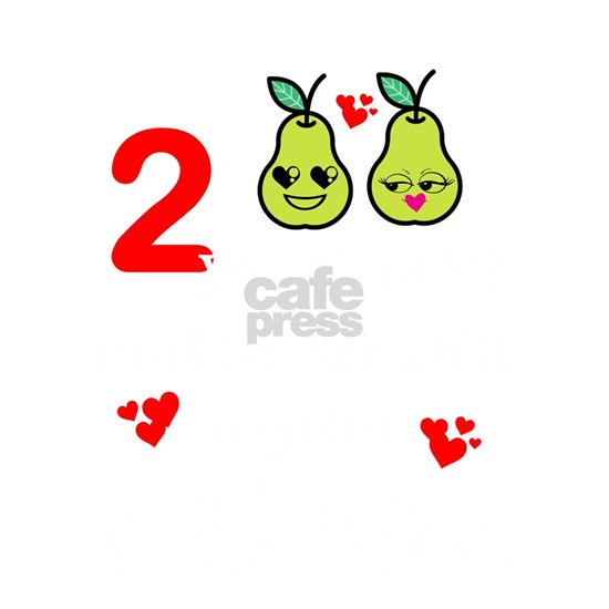2nd Wedding Anniversary Great Pear Marriage Design