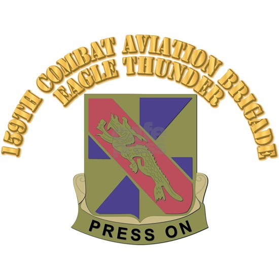DUI - 159th Combat Aviation Brigade With Text