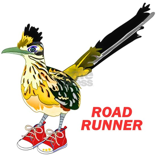 Road Runner in Sneakers