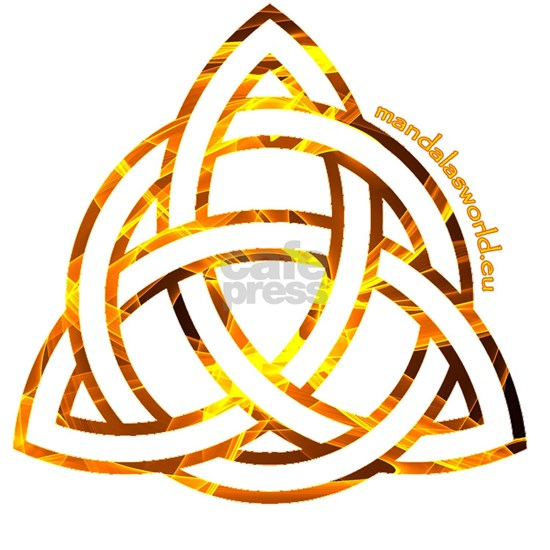 Celtic Holy Trinity Flames