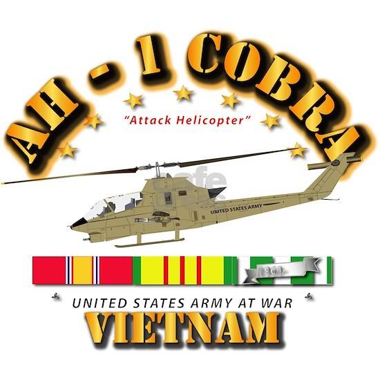AH-1 Cobra w VN Svc Ribbons
