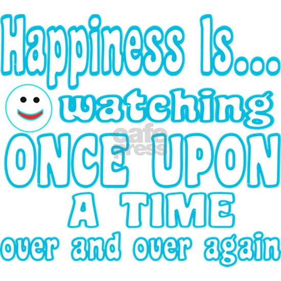 Happiness is watching Once Upon A Time