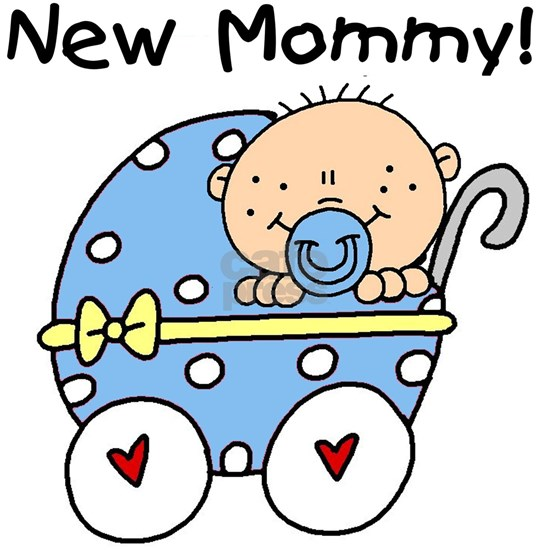 Carriage New Mommy of Boy