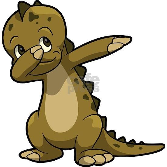 Dabbing Dinosaur