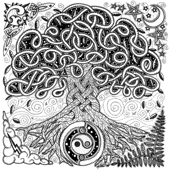 Celtic Tree of Life Ink