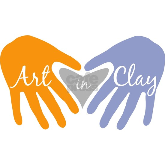 Art In Clay / Clay Heart and Hands