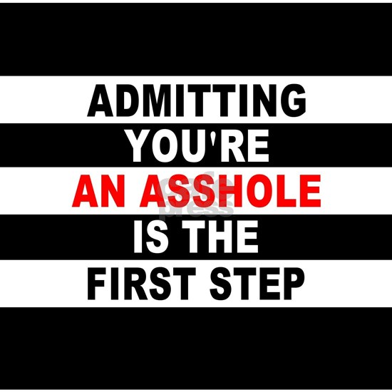 AA The First Step is...
