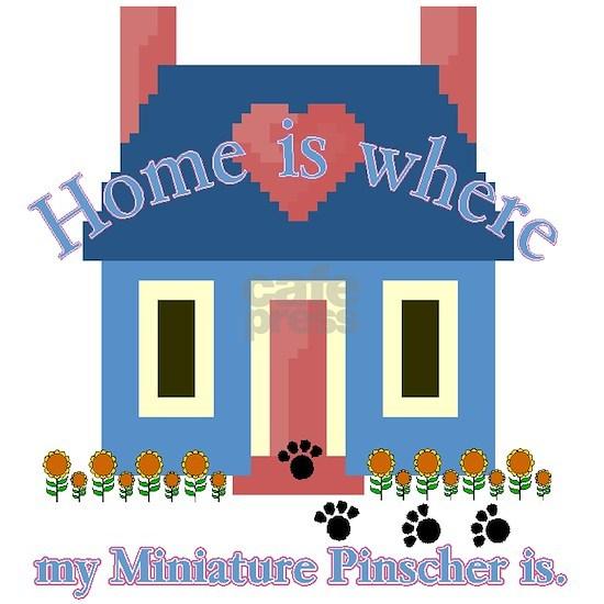 Miniature Pinscher home is white