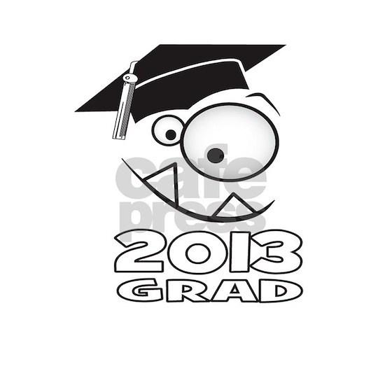 2013 Grad Cute Monster Face