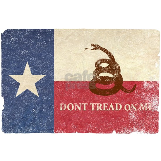 Texas and Gadsden Flag