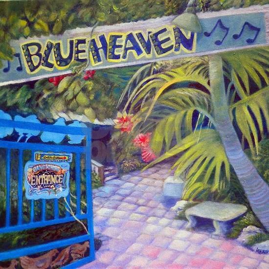Blue Heaven New View framed print