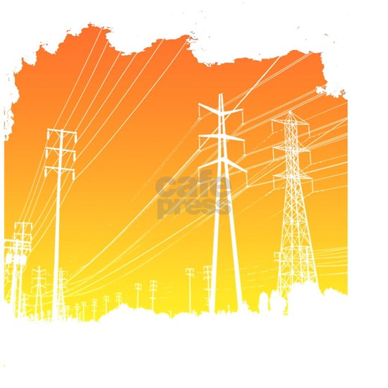 All Over Powerlines design