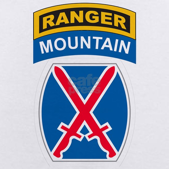 2-10th Mountain Division with Ranger Tab