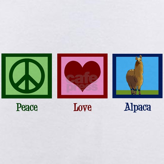 Peace Love Alpaca