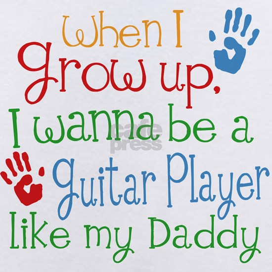 Guitar Player Like Daddy