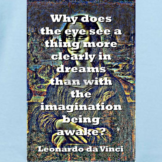 Why Does The Eye See - da Vinci