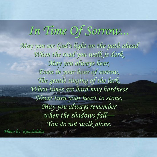 In Time of Sorrow