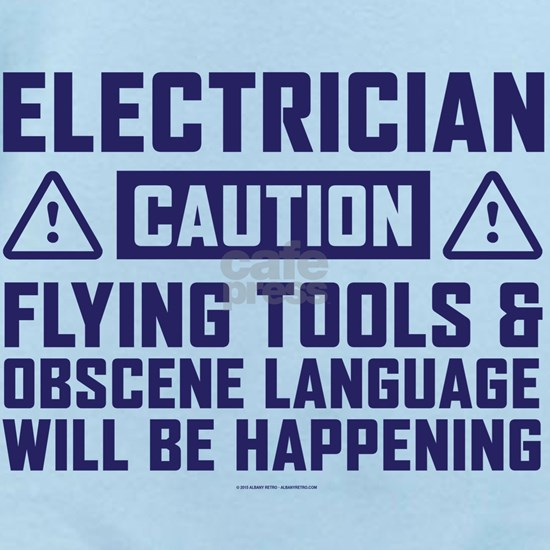 Caution Electrician