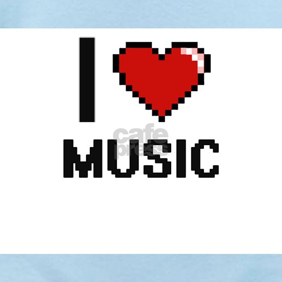 I Love Music Digital Design