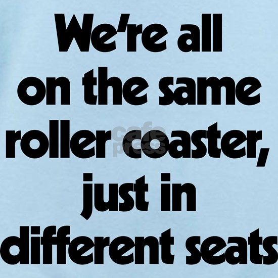 The Same Roller Coaster Just In Different Seats