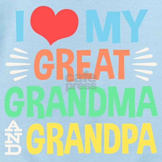 I Love My Great Grandma and Grandpa