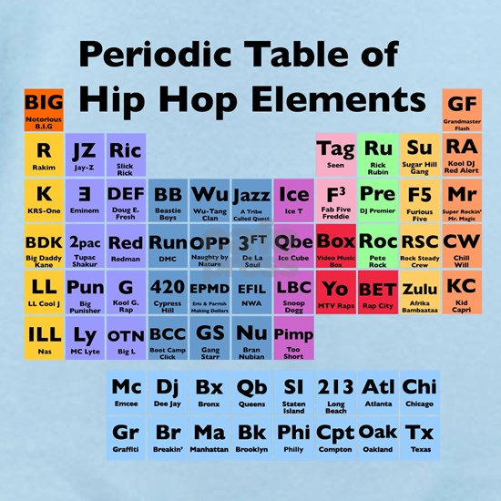 Hip Hop Table Light