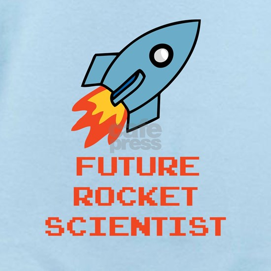 future rocket scientist_orange Baby Light Bodysuit Future ...