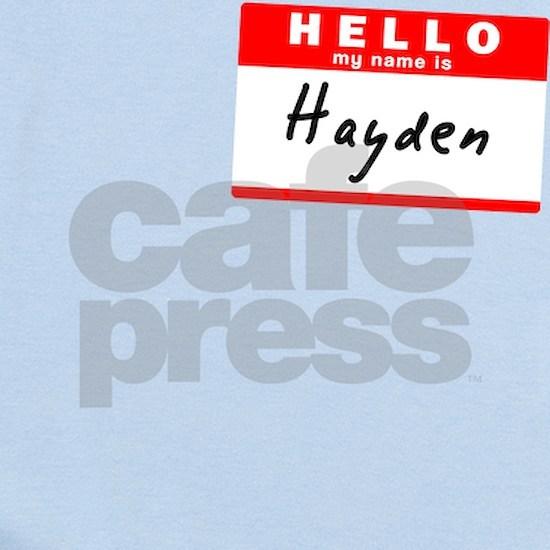 Hayden Baby Light Bodysuit Hayden, Name Tag Sticker Infant ...