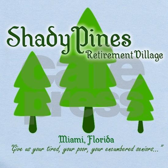 Shady Pines Retirement Village Baby Light Bodysuit