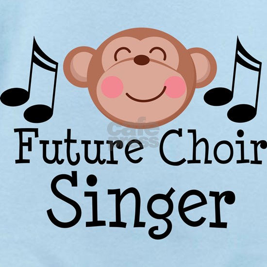 future choir singer monkey face