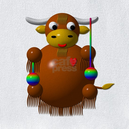 Cute Yak with yo-yos