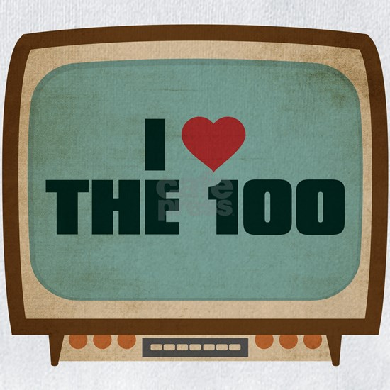 Retro I Heart The 100