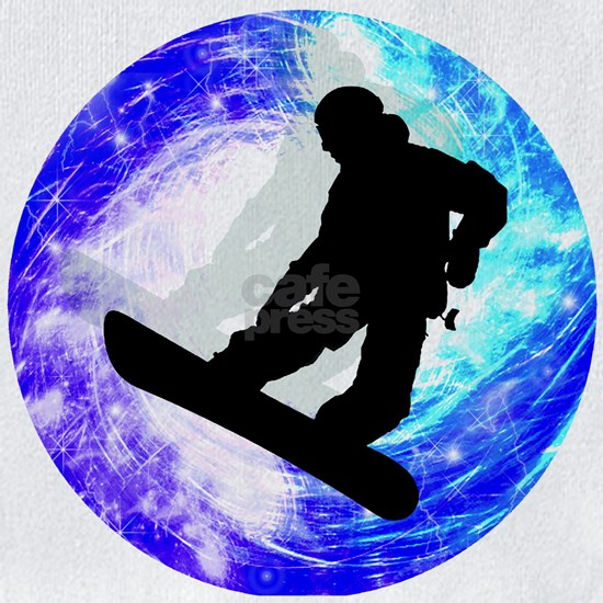 Snowboarder in Whiteout