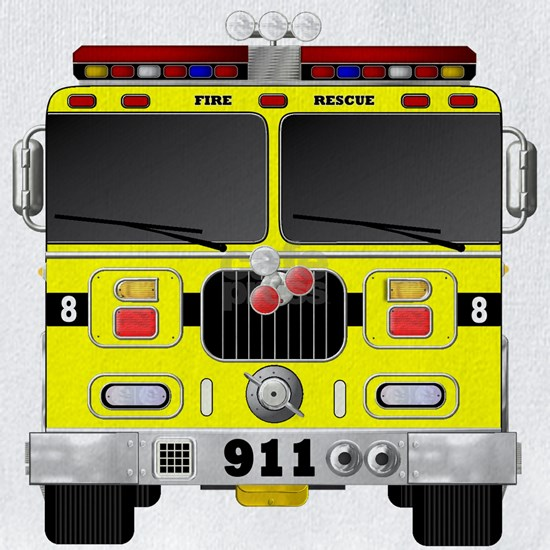Fire Engine - Traditional fire engines front yello