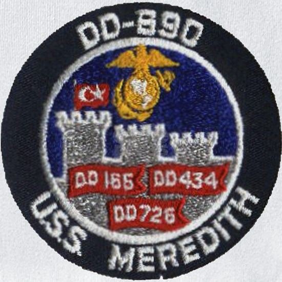 uss meredith patch
