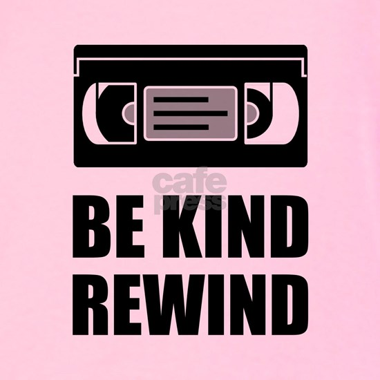VHS Cassette Tape Be Kind Rewind