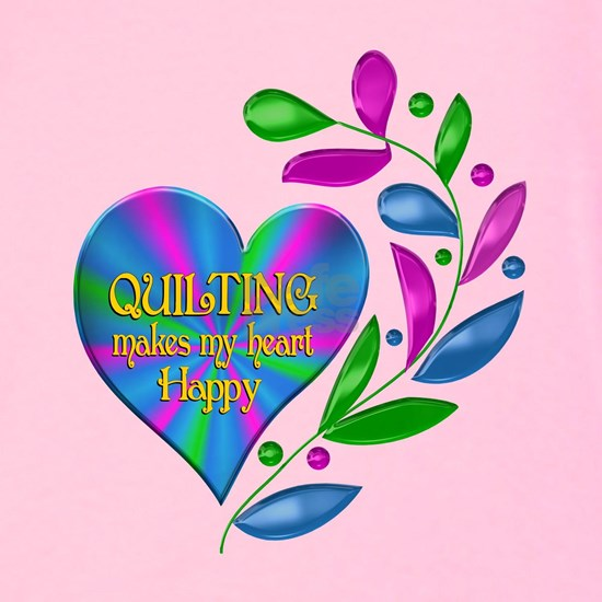 Quilting Happy Heart