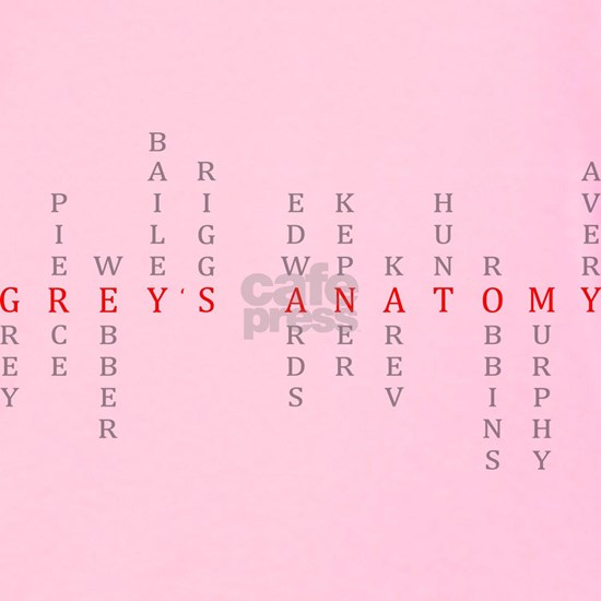 Grey's Vertical Character names