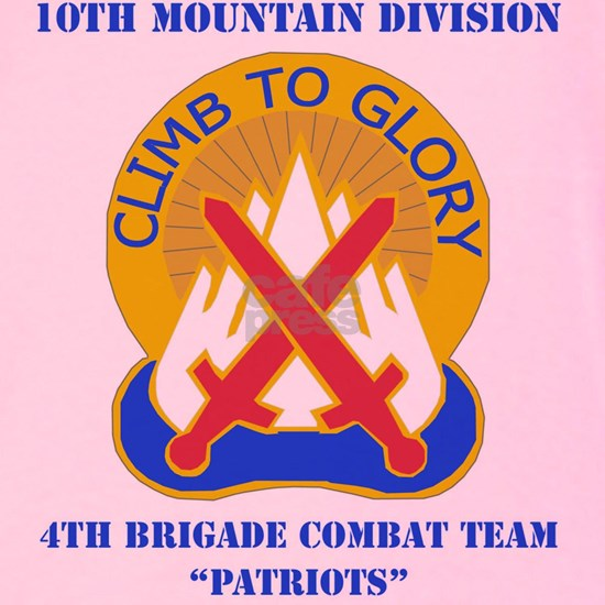 10TH MTN DIV-4BCT WITH TEXT