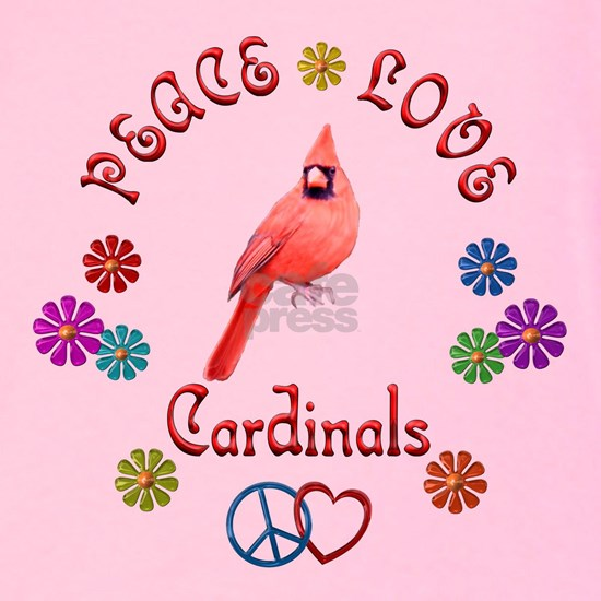 Peace Love CARDINALS