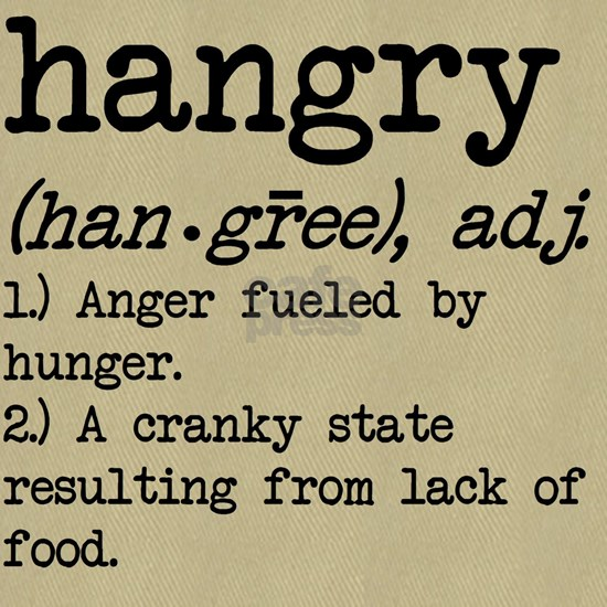Hangry: Defined