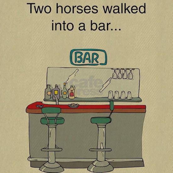 2 horses bar