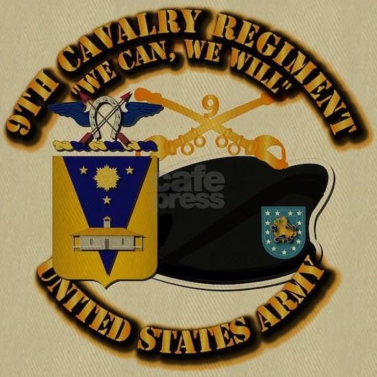 T-Shirt - Army - 9th Cavalry - BR - DUI