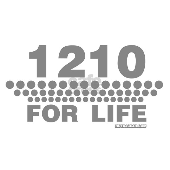 1210 for life dj turntable shirts