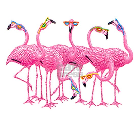 Cool Flamingos