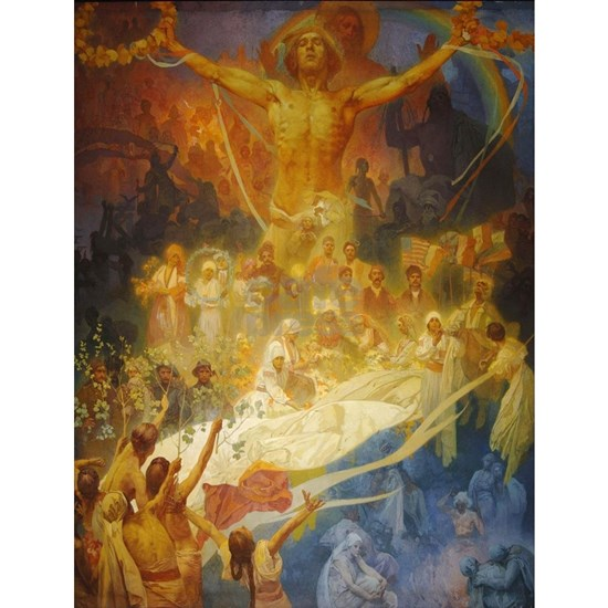 Vintage poster - The Slav Epic Cycle No. 20